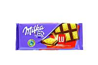 Milka Шоколад с печеньем Lu 87г