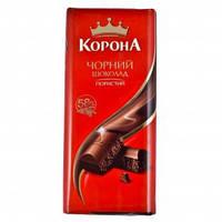 Корона Черный шоколад пористый 90г