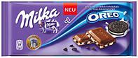 Milka Шоколад с печеньем Oreo 100г