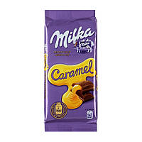 Milka Шоколад с карамелью 90г