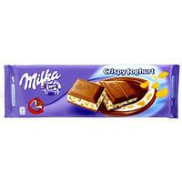 Milka Шоколад йогурт-хлопья 300г