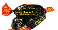 Корона Конфеты De Luxe черный шоколад 1кг