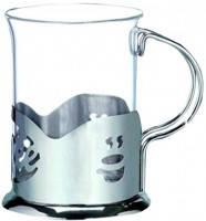 Подстаканник с стеклянным стаканом