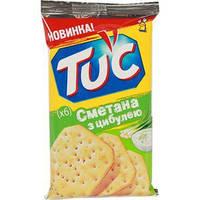 Tuc Крекер со вкусом сметаны с луком 21г