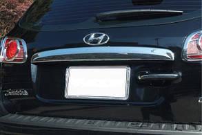 Накладка на дверь багажника Hyundai Santa Fe (2006-2012)