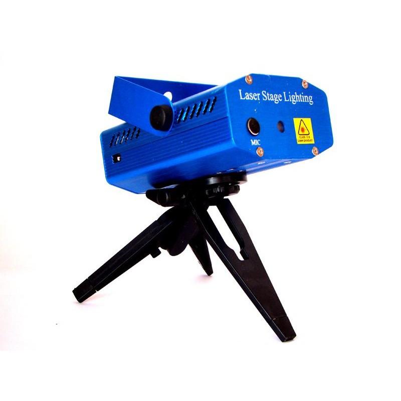 Лазерный проектор YX-039, стробоскоп, лазер шоу дискотека