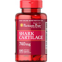 Акулий Хрящ.  Puritan's Pride - USA  Shark Cartilage 740 mg 100caps.