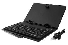 "Чехол клавиатура для планшета 8""  black USB"