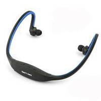 Наушники Sport MP3 плеер + FM и microSD