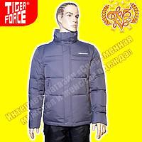 Тёплые мужские пуховики Tiger Force 419 Grey 3-4