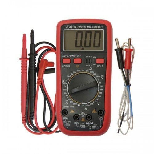 Мультиметр цифровий VC 61 A, тестер, амперметр, вольтметр