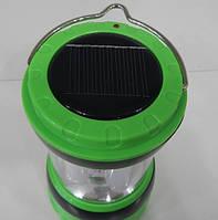 Фонарь кемпинговый аккумуляторный светодиодный YT-821 с солнечной панелью