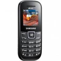 Мобильный телефон Samsung GT-E1202 Dark Gray (Keystone II DS) (GT-E1202DAI)