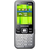 Мобильный телефон Samsung GT-C3322 (Duos) Midnight Black (GT-C3322MKI)