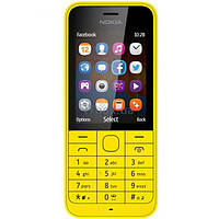 Мобильный телефон Nokia 220 (Asha) Yellow (A00017595)