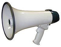 Ручной мегафон рупор громкоговоритель HW 20