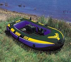 Човен надувний Intex 3х місцевий 68349 287*119*42 см