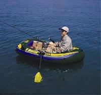 Лодка надувная Intex Seahawk 100 Set на одного человека 68345