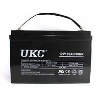 Универсальный гелевый аккумулятор батарея BATTERY GEL 100A 12V