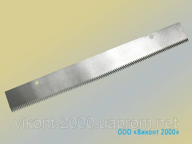 Изготовления ножей для автоматов по упаковке замороженных продуктов
