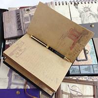 Винтажный блокнот World, фото 1