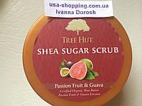 Скраб для тела Tree Hut Shea Sugar Scrub   PASSION FRUIT & GUAVA