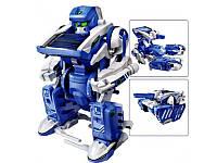 Робот-трансформер на солнечной батарее Solar Robot 3в1, фото 1