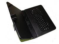 """Чехол с клавиатурой для планшетов 10"""" (microUSB). Черный, фото 1"""