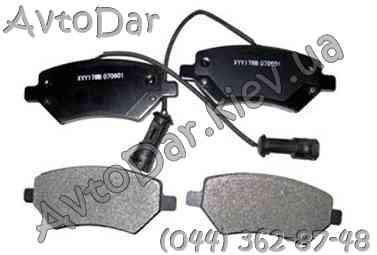 Колодки тормозные передние Chery Elara A21,Чери Элара A21-6GN3501080BA