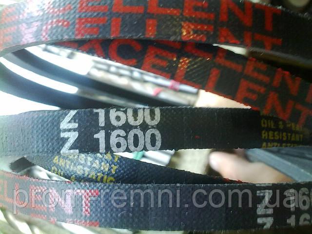 Приводний клиновий ремінь Z(0)-1600, EXCELLENT 1600 мм Excellent