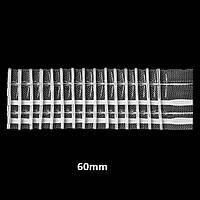 Лента (тесьма) шторная  №701М 60мм(50м)