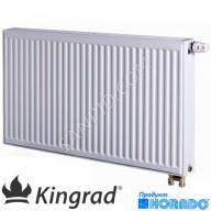 Стальные радиаторы kingrad ventil compact (нижнее подключение)