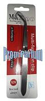 Стальной пинцет для зажима ногтей M&X П03138 /80-1