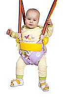 Прыгунки 4 в 1 качели тарзанка вожжи детские (цвета в ассортименте)