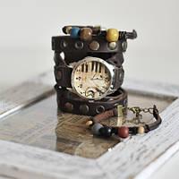 Наручные часы с браслетами Скрипичный ключ, фото 1