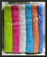 Лицевые полотенца однотонные 12 шт Ermet Турция