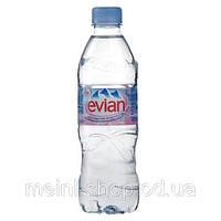 Вода минеральная ЭВИАН/ EVIAN 0,5 л б/газа пэт