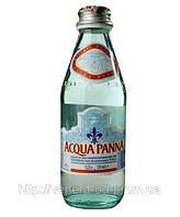 Вода минеральная АКВА ПАННА/ ACQUA PANNA 0,25 л  без газа стекло