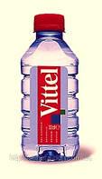 Вода минеральная ВИТТЕЛЬ/ VITTEL 0,33 л б/газа пэт