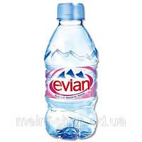 Вода минеральная ЭВИАН/ EVIAN 0,33 л б/газа пэт