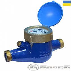 """Лічильник холодної води 1/2"""", MNK-15, Gross, мокроход R 80"""
