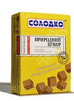 Сахар природный коричневый прессованный быстрорастворимый Солодко/ 1 кг
