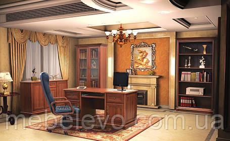 Комод Людовик 2Д 2Ш 905х1010х450мм каштан   Мебель-Сервис, фото 2