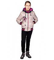 Куртка на девочку подростка весна осень Монстер Хай