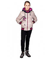 Куртка на девочку весна осень Монстер Хай