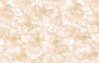 Стеновая Панель ПВХ Орхидея оранжевая