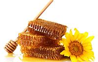 Мед в сотах (1 кг) ОРА АГРО-ЕКО
