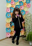 Курточка детская демисезон черная, фото 1