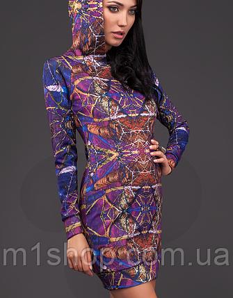 Женская туника с капюшоном (1005 Print 5 mr), фото 2