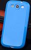 Cиликоновый чехол Samsung Galaxy S3 i9300 синий